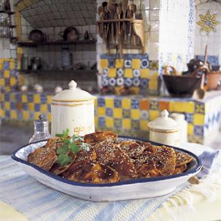 Puebla-Style Fiesta Turkey in Mole Sauce