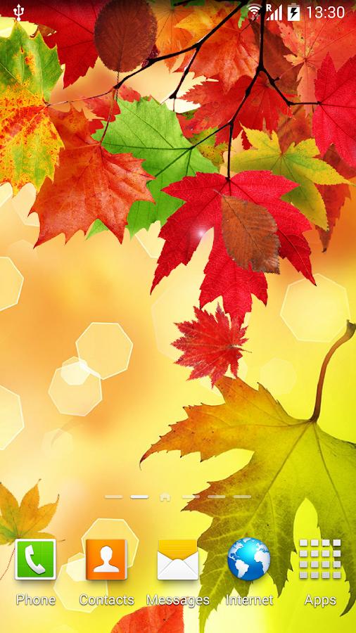 заставки на телефон осень фото