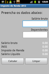 Imposto de Renda 2013 - screenshot thumbnail