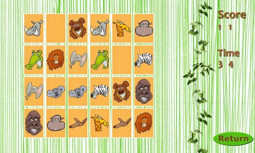 Wild Animals Memory Free- screenshot thumbnail