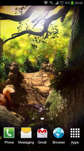 【免費個人化App】Fantasy Forest 3D Pro lwp-APP點子