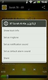 Nasser Al Qatami Juz 30 MP3 - náhled