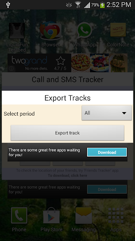 Call & Message Tracker -Remote Screenshot