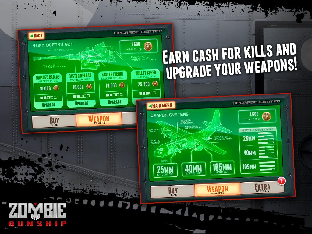 Zombie Gunship screenshot #13