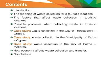 Screenshot of Waste Collection and Transfer