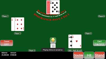 Screenshot of Count'em Blackjack 2