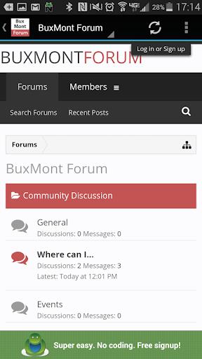 BuxMont Forum