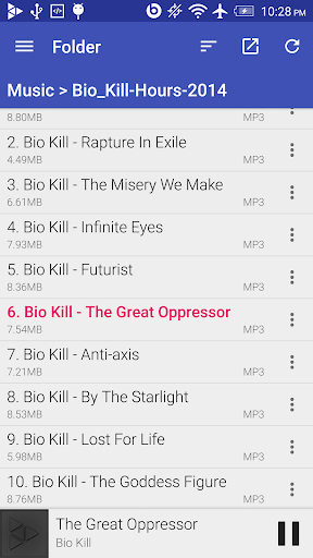 GoneMAD Music Player (Trial) 2.2.13 screenshots 6