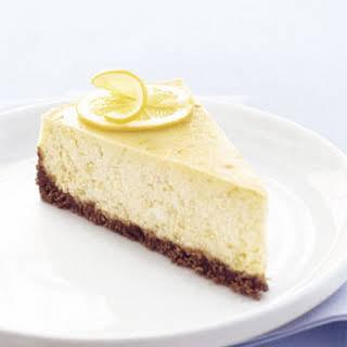 Lemon-Ginger Cheesecake.
