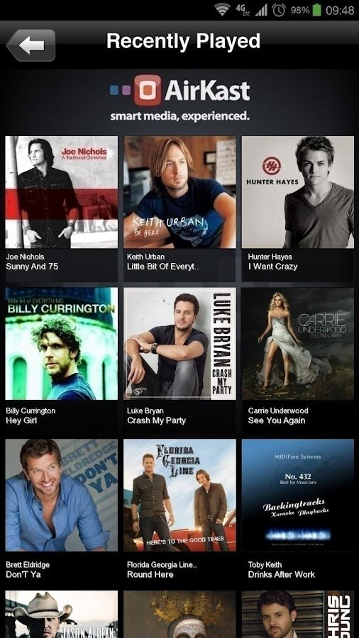 Country 105 WILQ - screenshot