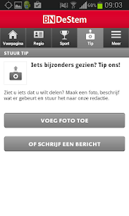 BN DeStem nieuws app - screenshot thumbnail