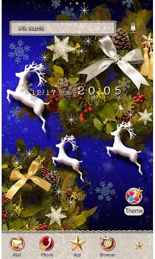 Christmas Silver Silent Night 1.1 Windows u7528 1