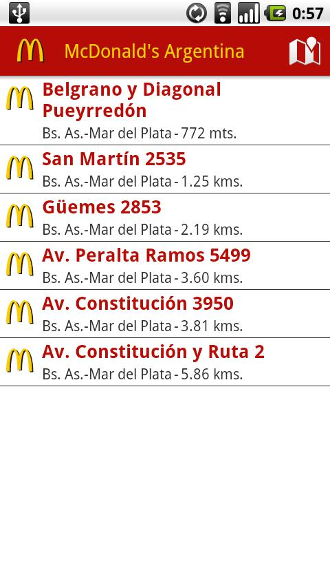 McDonald's Argentina - screenshot