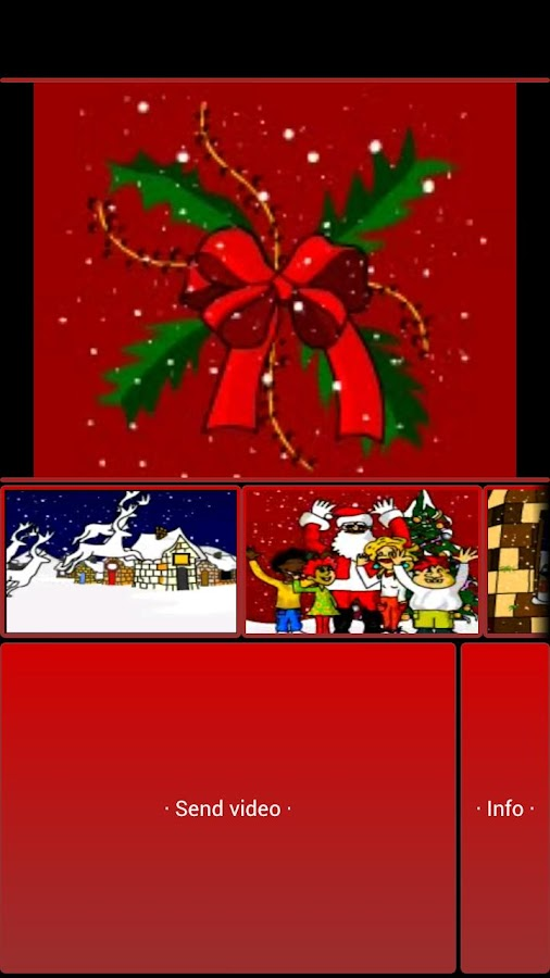 Xmas MMS - screenshot