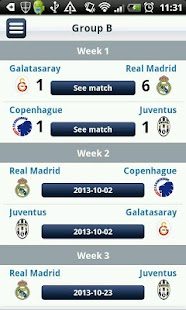 Real Madrid App - screenshot thumbnail