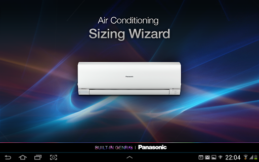 Panasonic AC Sizing Wizard HD