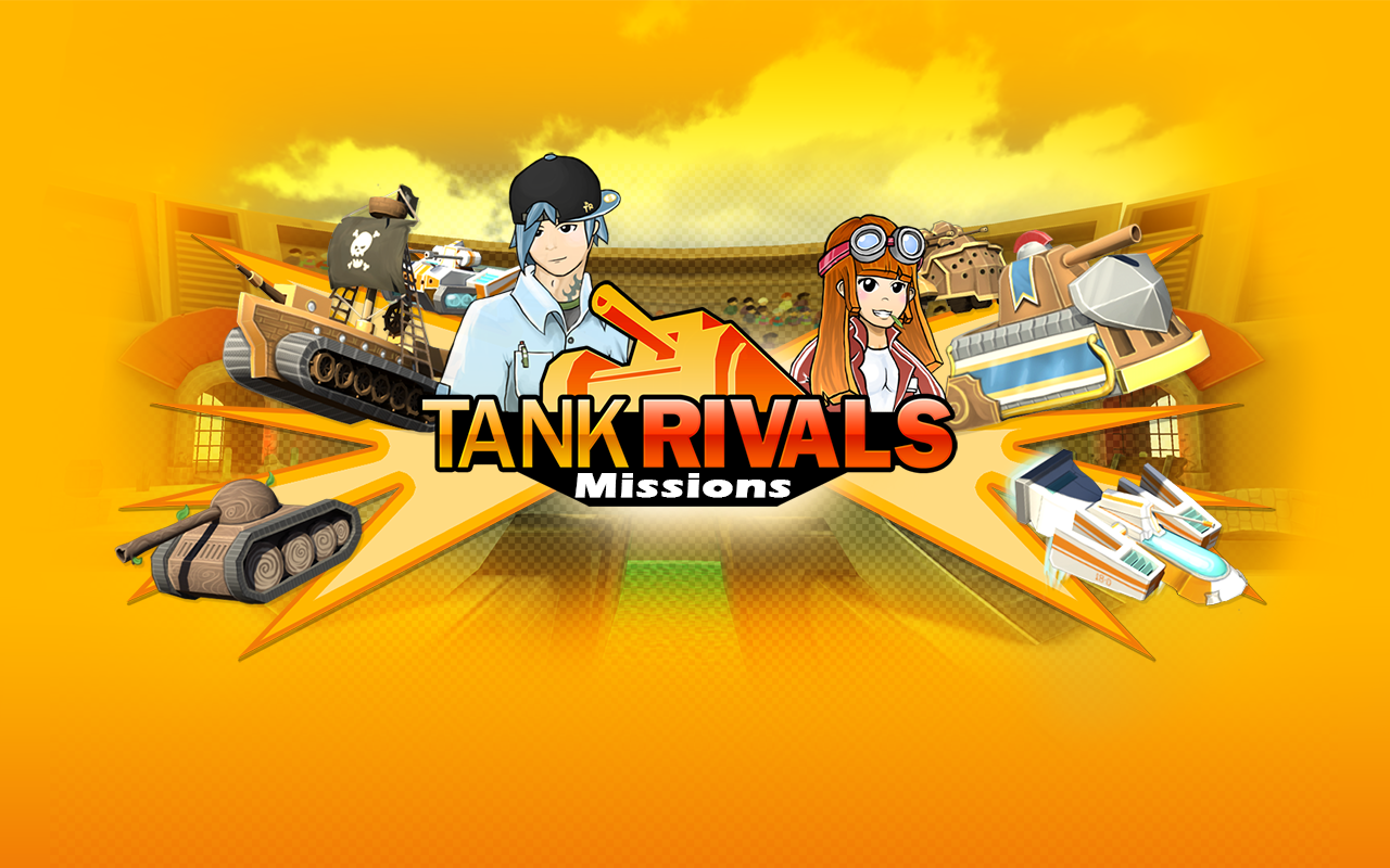 Tank Rivals - Missions (M) - screenshot