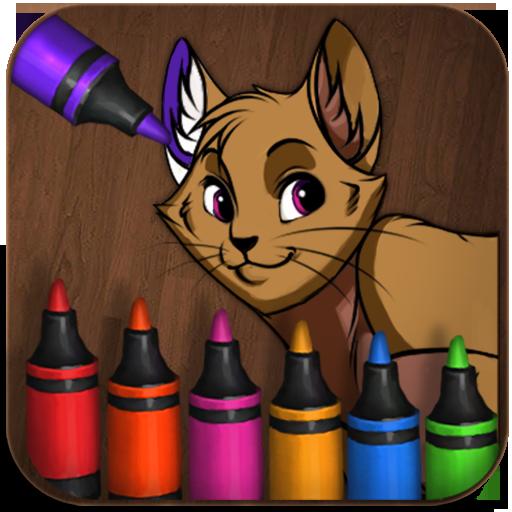 Little Animal Painter LOGO-APP點子