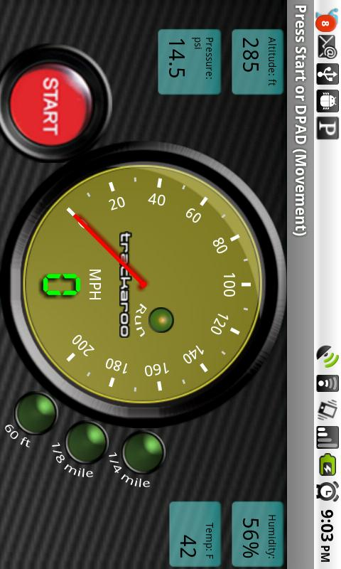 Yellow Speedo DynomasterLayout- screenshot