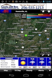 WAFF 48 Storm Team Weather - screenshot thumbnail