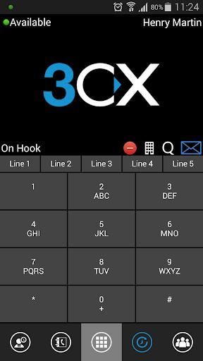 【免費通訊App】3CXPhone for Phone System v12-APP點子