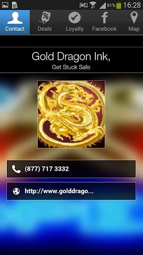 Gold Dragon Ink