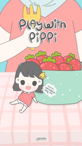 삐삐 딸기딸기 카카오톡 테마