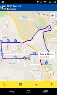 SLO Bus Tracker - screenshot thumbnail