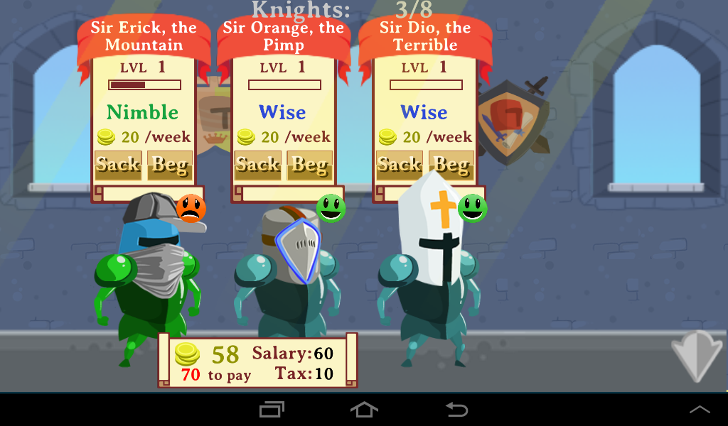 Knights Inc.- screenshot
