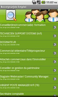 Boostyourjob Emploi- screenshot thumbnail