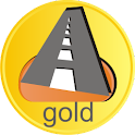 Speedcam: donation gold icon