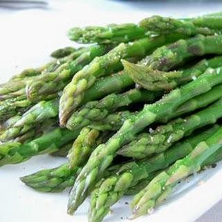 Simply Steamed Asparagus