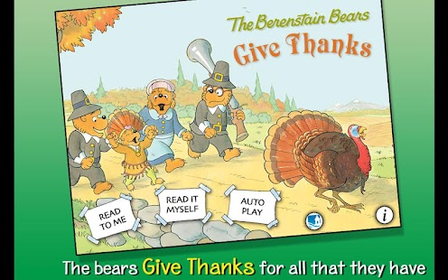 Berenstain Bears - Give Thanks - screenshot thumbnail