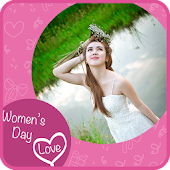 Women Day Frame