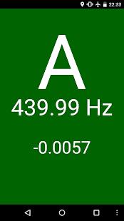 Universal Chromatic Tuner screenshot