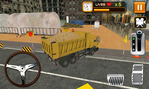 Heavy Construction Crane 3D