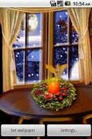 Screenshot of HD Christmas Santa Fire & Tree