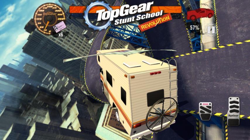 Top Gear: Stunt School SSR screenshot #2