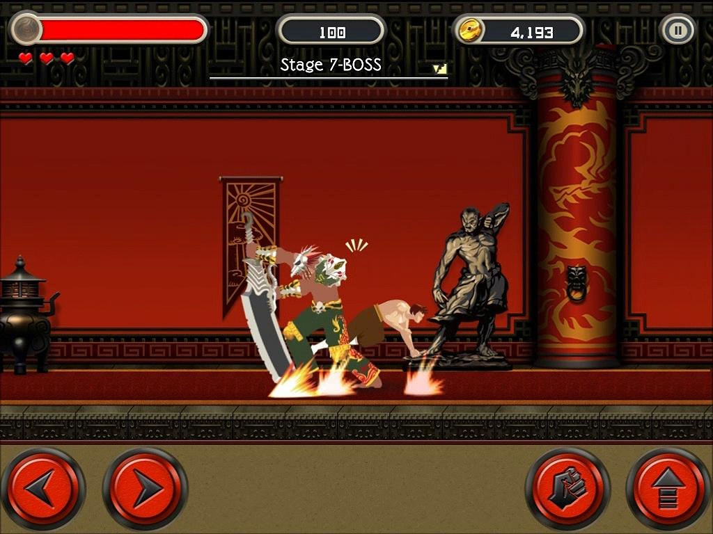 KungFu Quest : The Jade Tower- screenshot