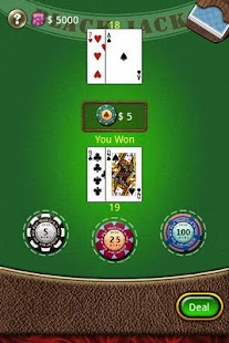 Blackjack 2011 - screenshot thumbnail
