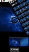 Screenshot of ADW Theme BinaryBlue