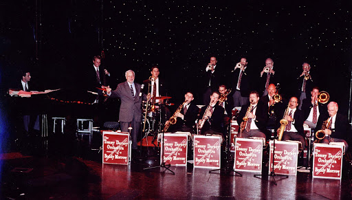 Enrichment-Entertainment-Big-Band-Experiences-of-Discovery-Tommy-Dorsey-Orchestra - Experience the big band sound of the Roaring Twenties with the Tommy Dorsey Orchestra aboard some Crystal cruises.