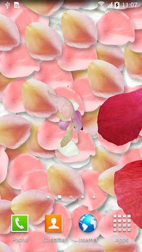 3D Petals Live Wallpaper
