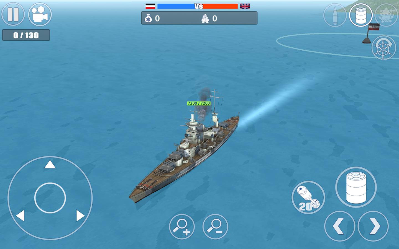 schlachtschiff simulation