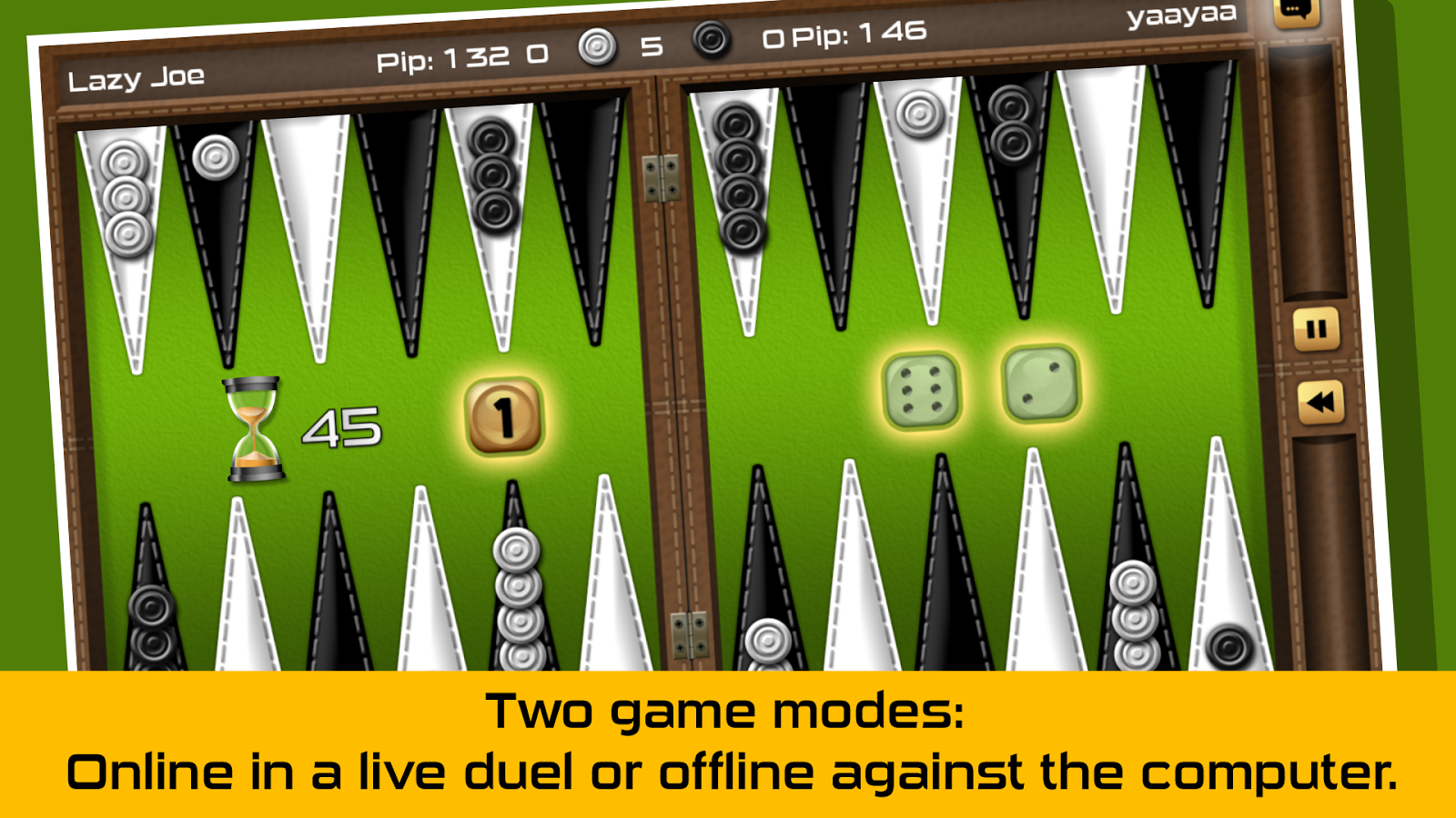 Backgammon Gold - screenshot