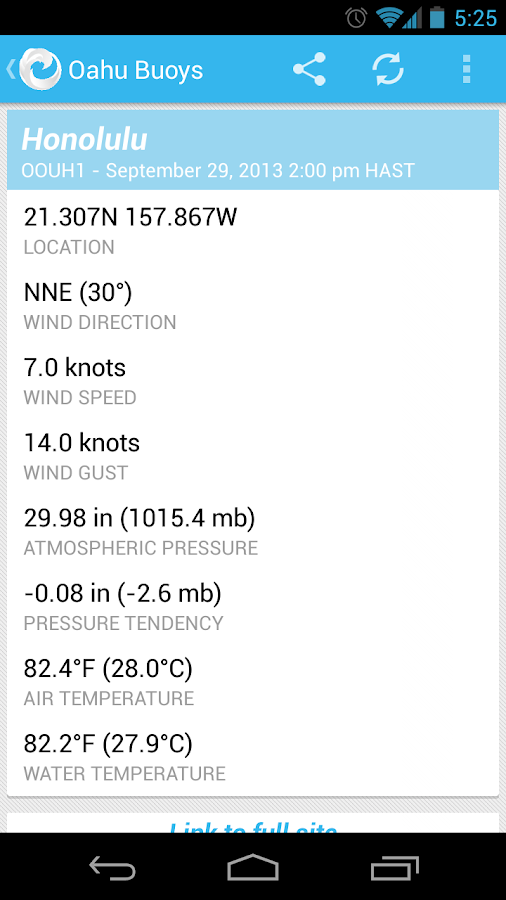 Hawaii Surf Forecast - screenshot