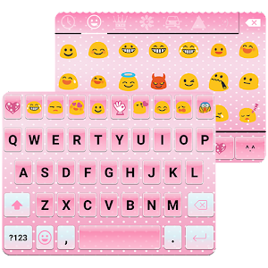 Pink Emoji Keyboard Emoticons Android Apps On Google Play