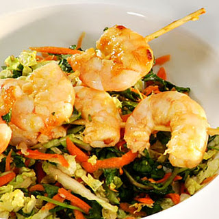 Sesame Shrimp Salad.