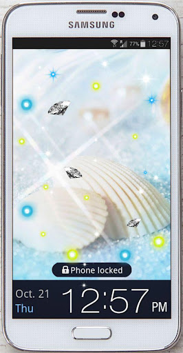 【免費個人化App】Sea Treasures live wallpaper-APP點子