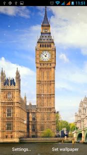Londýn živé Tapety - náhled
